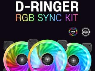 에즈윈 '알스아이 D-Ringer PWM RGB SYNC KIT' 쿨러 출시
