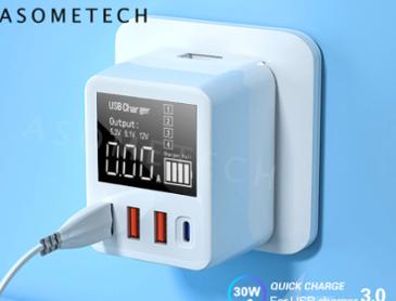 [알리] 고속충전 QC3.0 USB 벽충전기($12.67/무배)