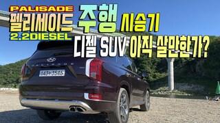 팰리세이드 2.2 디젤 주행 주행 시승기 디젤 SUV 아직 살만한가?