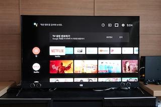퀀텀닷 4K HDR 디스플레이에 안드로이드 OS를 더한 가성비 55인치 TV 더함 우버 U553QLED