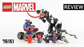 레고 마블 76151 스파이더맨 베노모사우루스 매복(Marvel Venomosaurus ambush)  리뷰_Review_레고매니아_LEGO Mania