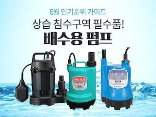 [6월 인기순위 가이드] 상습 침수구역 필수품! 배수용 인기 펌프