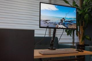 나라장터에서 가장 합리적인 모니터+모니터암, 다나와컴퓨터 SDM-2404-A 로 업무효율 향상