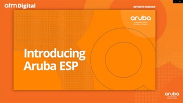 HPE 아루바, 클라우드 기반 네트워크 관제 플랫폼 '아루바 ESP' 첫 선