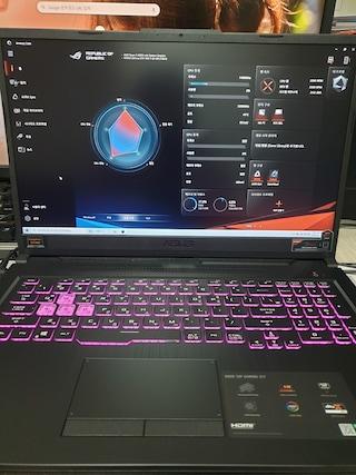 ASUS TUF Gaming A17 FA706II-H7021 개봉및 윈도우 설치 리뷰 입니다