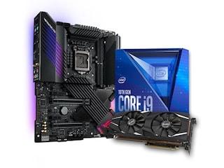 인텍앤컴퍼니, 10세대 인텔 CPU 및 ASUS 메인보드, 그래픽카드 합본팩 할인 판매