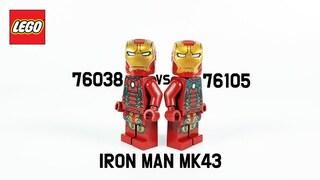 레고 아이언맨 마크43 수트 비교(LEGO Iron Man MK43 Suit Comparison)  장기프로젝트(#14)_리뷰_Review_레고매니아_LEGO Mania