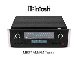 역전 노장 매킨토시의 튜너 사랑 McIntosh MR87 AM/FM Tuner