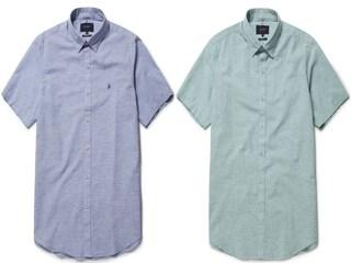 [특가] 올젠 린넨 혼방 반팔셔츠가 74% 할인!