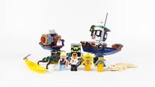 [레고 70419] 난파된 새우잡이 배(Wrecked Shrimp Boat)