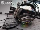 콕스 스칼렛(COX SCARLET) : 가상 7.1채널 노이즈 캔슬링 지원 게이밍 헤드셋