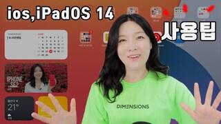 ios14 사용하며 튕김 당하고 있습니다.. 미리 써본 ios14, ipadOS 14 사용팁