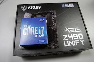 MSI MEG Z490 UNIFY 초간단 개봉기