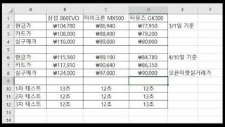 SAMSUNG 860EVO VS MICRON MX500 VS TAMMUZ GK300 [Feat. Intel i5 4590, Asrock B85M-DGS, Windows10]