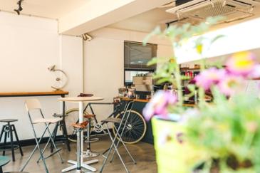 서울의 자전거 테마 카페