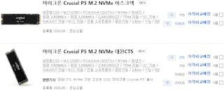 '마이크론 Crucial P5 M.2 NVMe' SSD 국내 출시