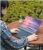 날렵하고 가벼운 10세대 인텔 슬림 노트북, MSI 모던14 A10M-i5 카본 그레이