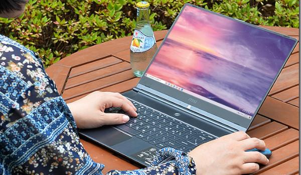 날렵한 10세대 슬림 노트북