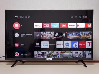 TCL 안드로이드TV 32S6500 : 넷플릭스 볼 TV를 샀는데 열어보니 게임기였다?