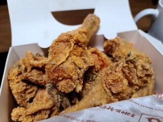 공짜돈은 바로 치킨으로..