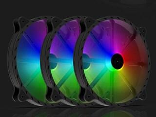 브라보텍, 200mm RGB 튜닝 시스템 팬 쿨러 'F200 ARGB PWM' 출시