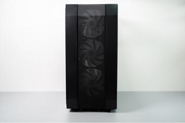 미들타워 PC케이스, DAVEN D1 MESH 아크릴(블랙 제품)