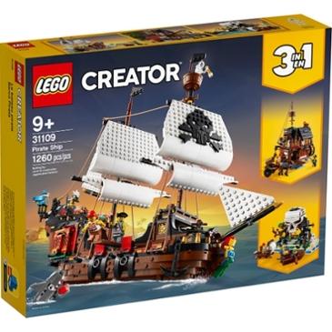 어제보다 20,123원 싸진 레고 크리에이터 해적선 (31109)(정품)