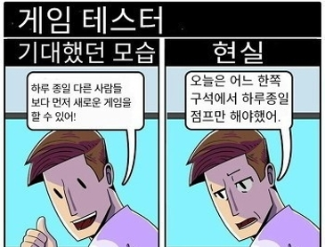 게임 개발자들의 현실