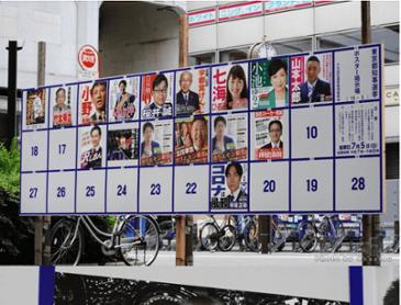 일본의 미쳐버린 도쿄 도지사 선거 포스터 근황.jpg