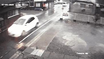 일본 폭우 20분 상황