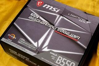 MSI B550i GAMING EDGE WIFI 간략한 사용기
