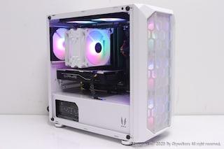 깔끔한 화이트 RGB 감성의 미니타워~! 3RSYS R410 (WHITE) 사용기