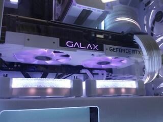 유부남의 GALAX RTX 2070 SUPER WHITE로 화이트 컨셉 ARGB PC 조립기