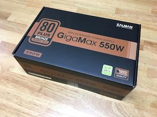 다시 돌아온 잘만테크 가성비 80PLUS 브론즈 파워서플라이 GigaMax 550W