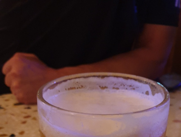 시원한 맥주 한잔!