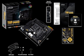 ASUS TUF Gaming B550M-PLUS STCOM & 라이젠 3 3300X 사용기
