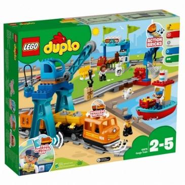 어제보다 14,030원 싸진 레고 듀플로 화물 열차 (10875)(해외구매)