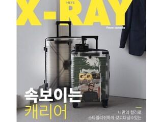 [신박템] 속 보이는 헤이즈 엑스레이 투명 캐리어!