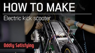 How to make Electric Kick Scooter Ninebot Max | pocketmagazine | 나인봇 맥스 전동킥보드가 만들어지는 과정