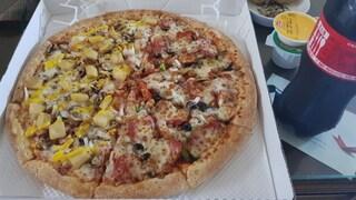 저녁으로 피자!!