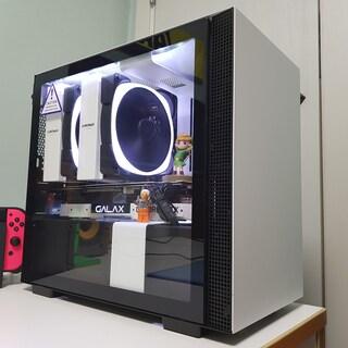 [갤럭시 화이트 콘테스트] 화이트 감성의 작지만 꽉찬 컴퓨터! 갤럭시와 함께한 인생 첫 조립기