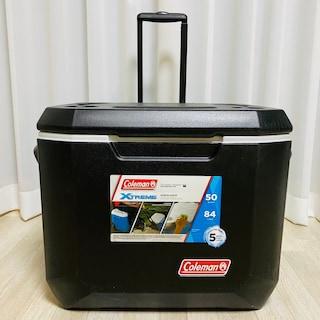 콜맨 50쿼터 익스트림5 휠드쿨러 아이스박스 구매 후기