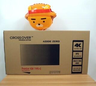 크로스오버 27UL990 HDR TYPE-C 4K 프리미엄 사용기