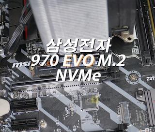 삼성전자 970 EVO M.2 NVMe SSD 500GB 사용기