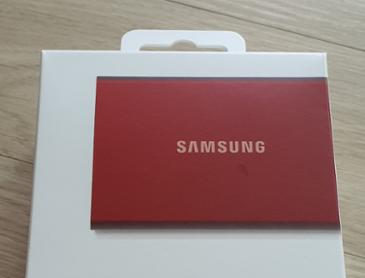 삼성전자 T7 카드 SSD 써봤어요(개봉사용)