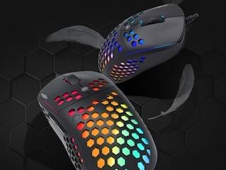 마이크로닉스, 타공 처리로 무게 줄인 게이밍 마우스 'MANIC MG201' 출시
