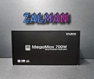 [잘만] MegaMax 700W 80PLUS STANDARD 파워 서플라이 후기