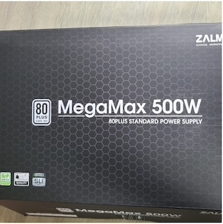 잘만 가성비파워 추천 MegaMax500W 80 Plus Standard Power Supply