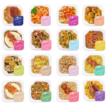 쓰리케어 포켓도시락 1일3식 세트 (16종류 18팩)(1개) 57,900원 -> 48,510원(무료배송)