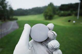 음성 안내 GPS 골프 거리 측정기 보이스캐디 VC4 에이밍